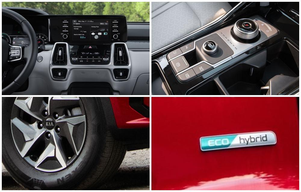 2021 Kia Sorento Hybrid EX Collage 01